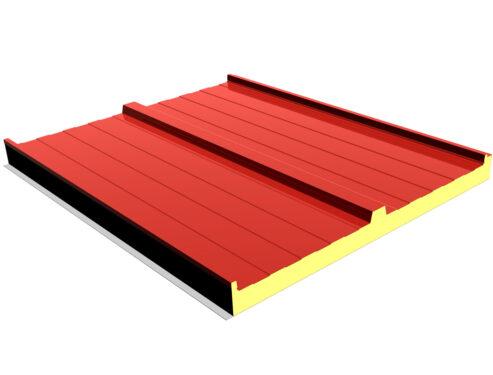 panel cubierta ganadero tapajuntas 3d