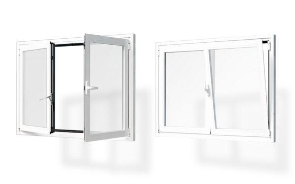 ventana alumnio practicable oscilobatiente 1 2 hojas serie 5020