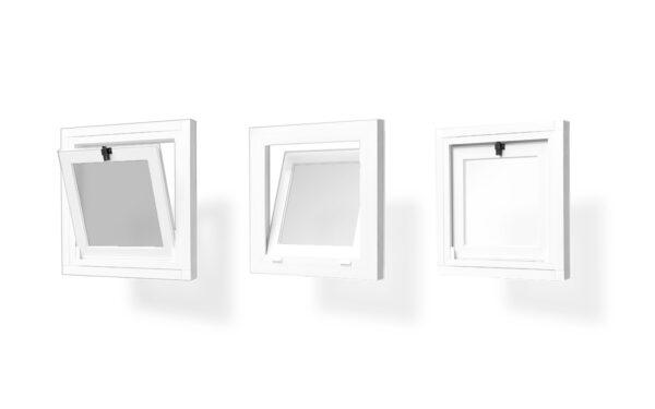 ventana pvc abatible 1 hoja serie s 7009