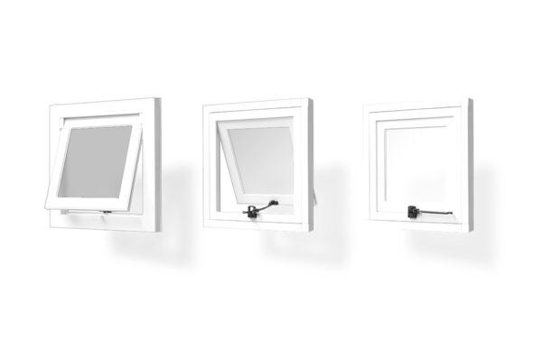 ventana pvc proyectante 1 hoja serie s 7009