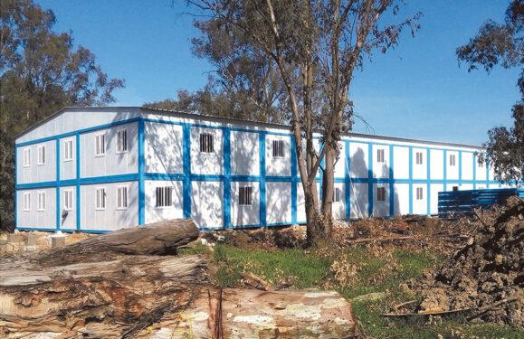 campamentos de trabajo prefabricados