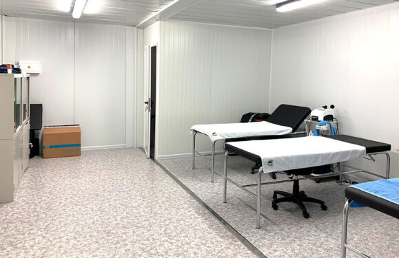 centros atencion primaria prefabricados