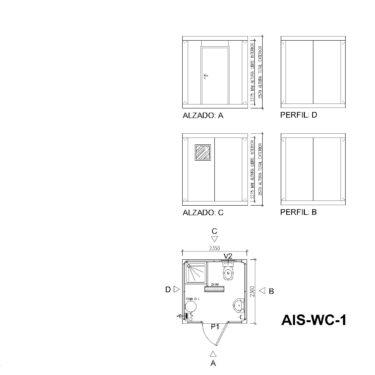 planos AIS WC 1
