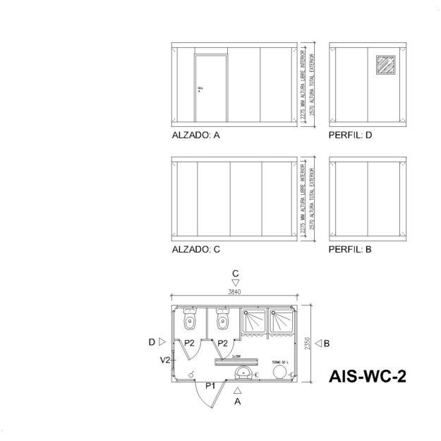 planos AIS WC 2