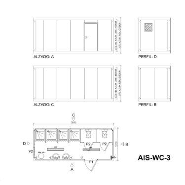 planos AIS WC 3