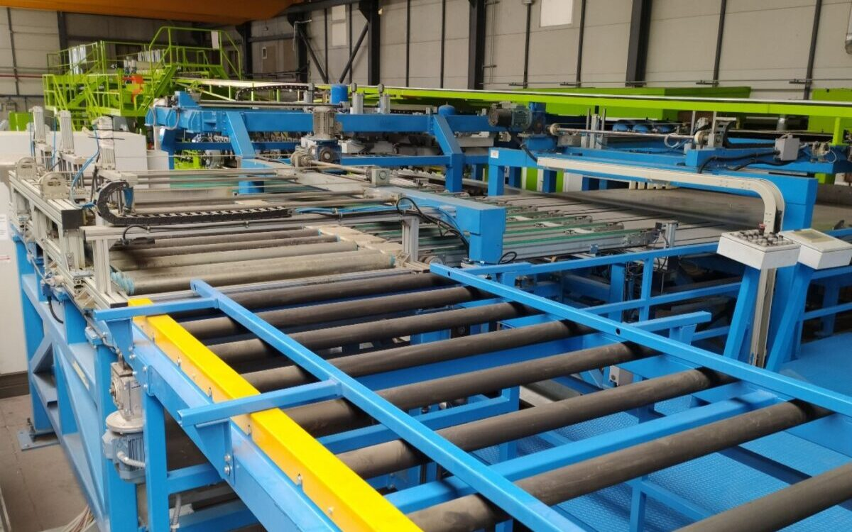 cargador lana de roca nueva línea de fabricación continua de Paneles Sándwich