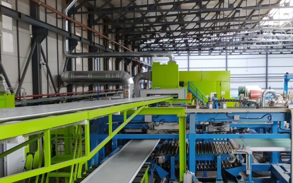 nueva linea produccion panelais